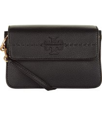 cartera tory burch mcgraw 40410 - negro
