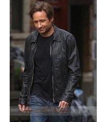 handmade hank moody leather jacket season 5, biker leather jacket men men jacket