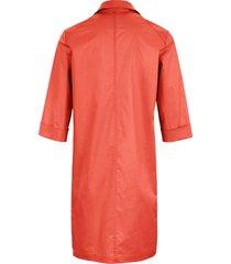 jurk omslag aan de 3/4-mouwen van riani oranje