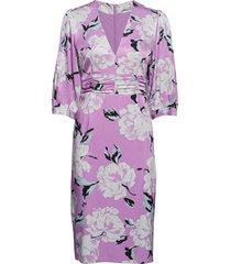 gwin dress ms19 jurk knielengte roze gestuz