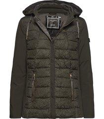outdoor jacket no wo gevoerd jack groen gerry weber edition