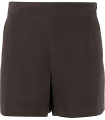valentino high-waisted knitted shorts
