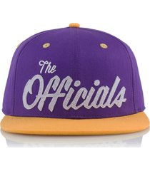 gorra violeta official the officials lake