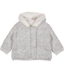 chaqueta bebe niña gris  pillin