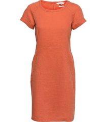 aundreaspw dr knälång klänning orange part two