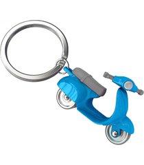 llavero scooter moto europa style mtm -azul