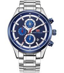 reloj análogo f0081g-3 hombre azul