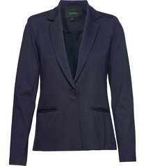 freya new ls blazer blazer colbert blauw soft rebels