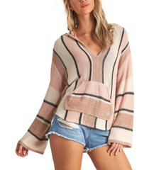 billabong juniors' baja beach striped hoodie