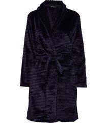 decoy short robe w/stripes morgonrock blå decoy