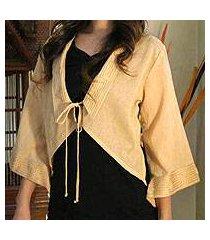 cotton blouse, 'thai sands' (thailand)