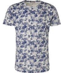 no excess t-shirt s/sl, r-neck, slub jersey, indigo blue