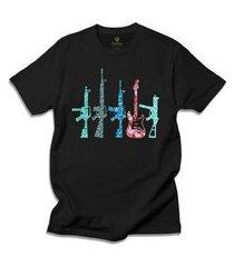 camiseta cool tees guitar machine