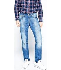 wrangler - jeansy greensboro all blue