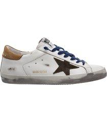 scarpe sneakers uomo in pelle superstar