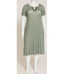 daylight stripe a-line dress (with pockets)
