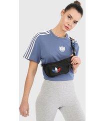 camiseta azul-blanco adidas originals adicolor triofilo 3d