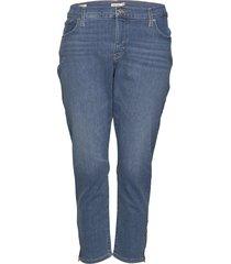 311 pl skinny ankle zip new yo skinny jeans blå levi's plus