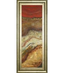 "classy art tierra panel il by patricia pinto framed print wall art - 18"" x 42"""