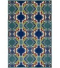 "kaleen a breath of fresh air fsr101-22 navy 7'10"" x 10'8"" area rug"