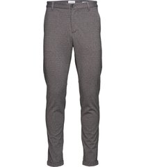 knitted pants normal length casual byxor vardsgsbyxor grå lindbergh