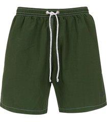 track & field 'beach' swim shorts - green