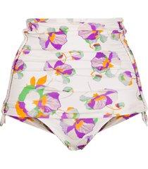 isabel marant floral bikini bottoms - yellow