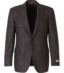 micro-dot motif blazer