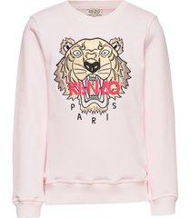 tiger jg 8 sweat-shirt trui roze kenzo