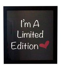quadro i am a limited edition