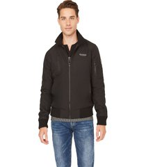 chaqueta g factory robert nylon jacket negro guess