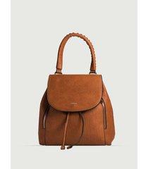 mochila  tessa  marrón prune