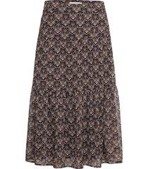 skirt lång kjol svart sofie schnoor