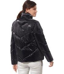 gewatteerde jas amy vermont zwart