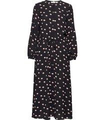 leigthoniw dress jurk knielengte zwart inwear