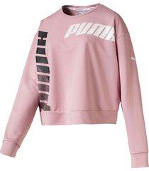 buzo rosado puma modern sport mujer 580078-14