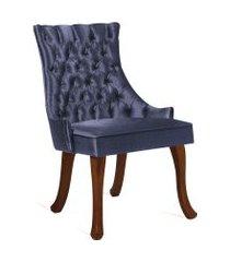 cadeira luis xv t1091 linhao marinho daf azul marinho