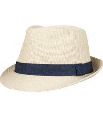 levi's men's textured fedora hat