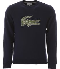 lacoste maxi logo sweatshirt