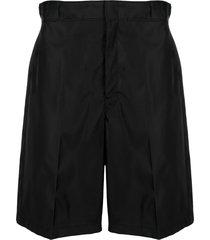 prada gabardine shorts