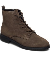 griffin lace shoes boots ankle boots ankle boot - flat grön clarks