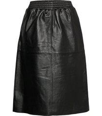 taikova skirt knälång kjol svart marimekko