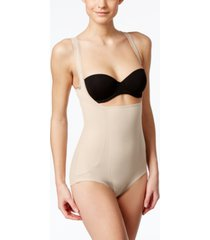 miraclesuit shape away extra firm tummy-control open bust torsette bodysuit 2918