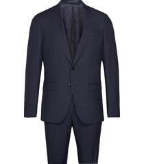 huge6/genius5 kostym blå boss