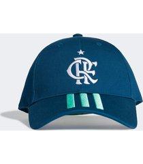 bonã© adidas crf bb cap azul - azul - dafiti