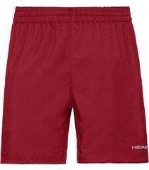 head tennisbroek men shorts club red-xl