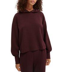 women's scotch & soda seasonal fit hoodie, size x-small - burgundy