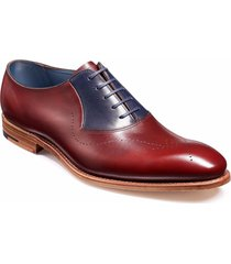 handmade men oxford dress shoes burgundy navy leather suede formal tuxedo shoes