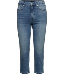 d1. slim blue capri denim rechte jeans blauw gant