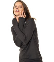 buzo negro  reebok  re 1/4 zip